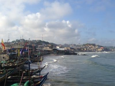 Cape Coast scenery, Projects Abroad