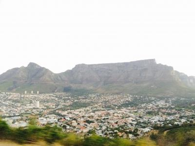 Photo of Cape Town city, taken by a Projects Abroad volunteer