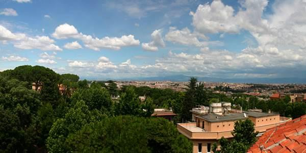 View of Rome from AUR
