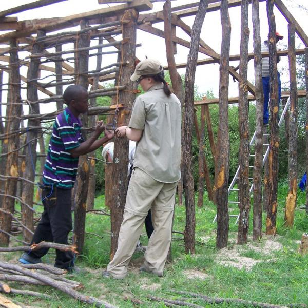Construction Project in Zambia with Love Volunteers!