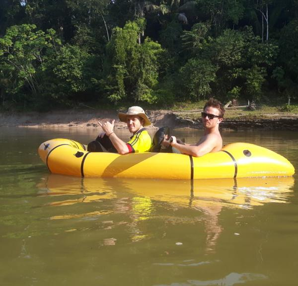Rafting the Piedras River