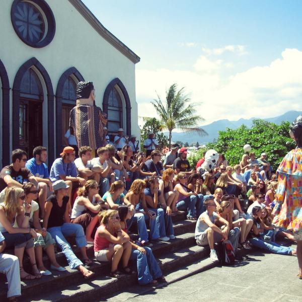 Rally Pueblo Antiguo - Intern in Costa Rica - Adelante Abroad