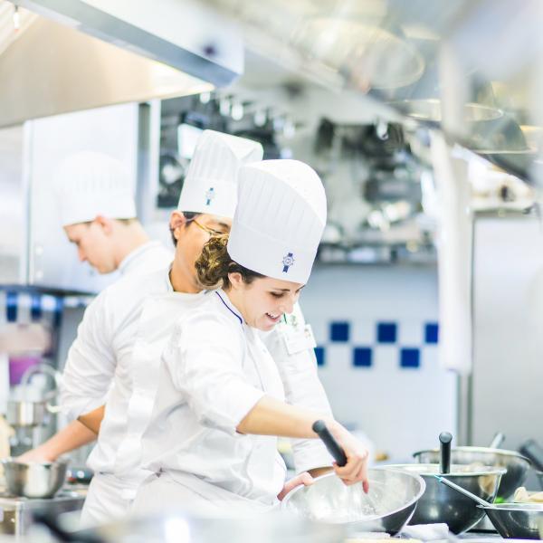 In the Kitchen at Le Cordon Bleu Ottawa