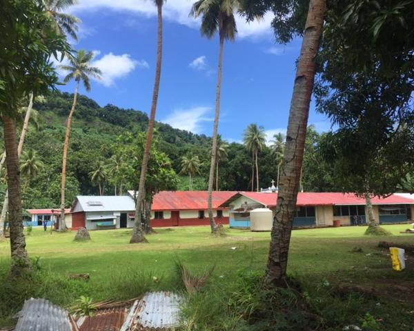 School Campus on Chuuk