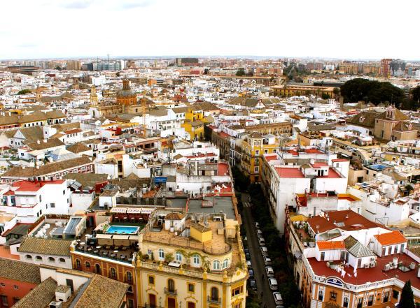 Sevilla Ariel View