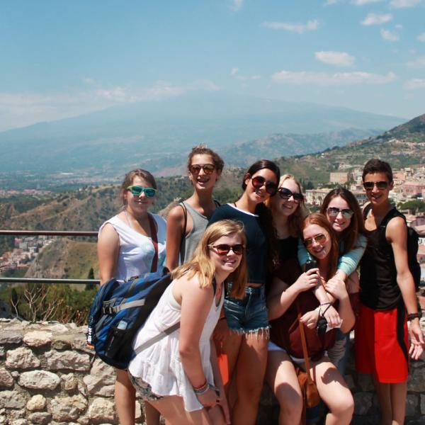 Sicily, Community Service, Catania, Biancavilla, Teen Travel, Local Community Center