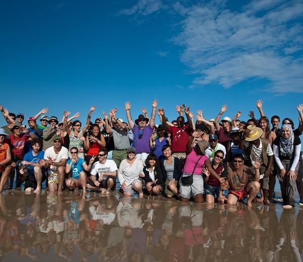 North Stradbroke Island field trip 2012