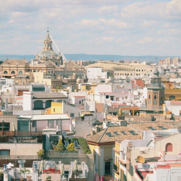 Skyline of Seville - Intern in Seville - Adelante Abroad