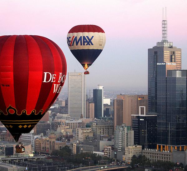 Melbourne has grown from a gold rush town to a thriving metropolis