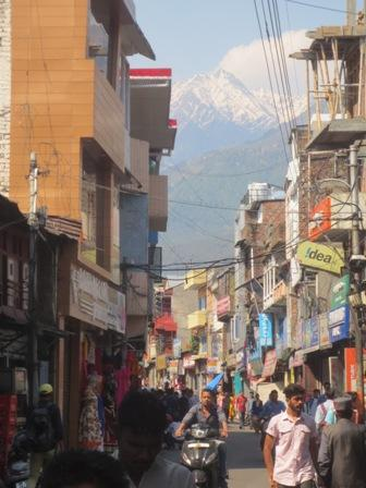 Street view of Palampur