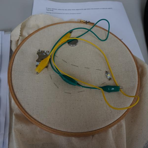 Smart Textiles Project, Nottingham Trent University