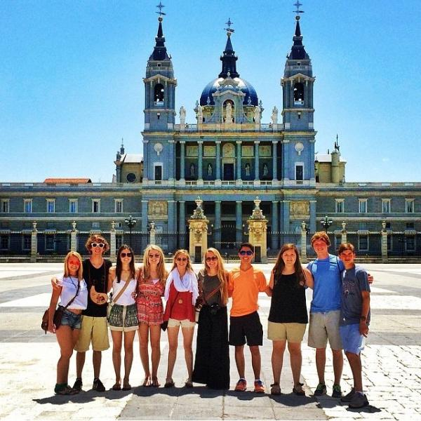 SPI high school study abroad students in Spain