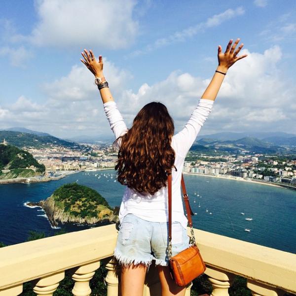 SPI student in San Sebastian, Spain