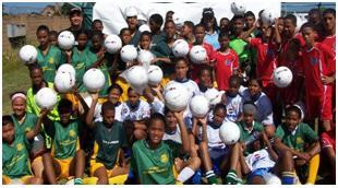 Sports Development Programs in South Africa with Love Volunteers!