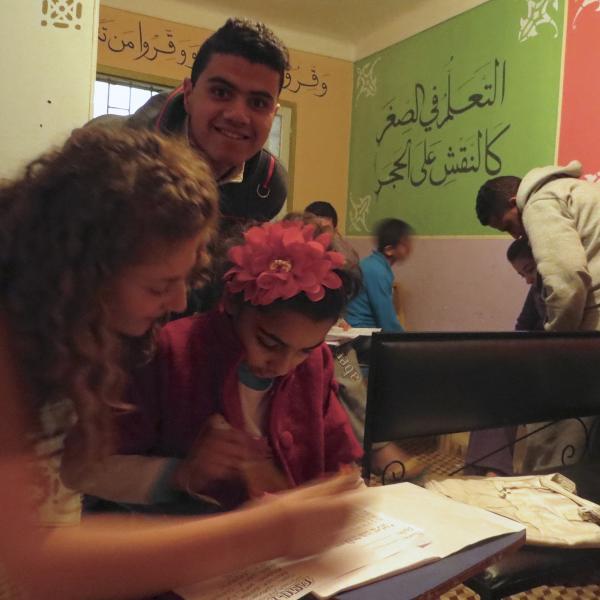 education-volunteer-rabat