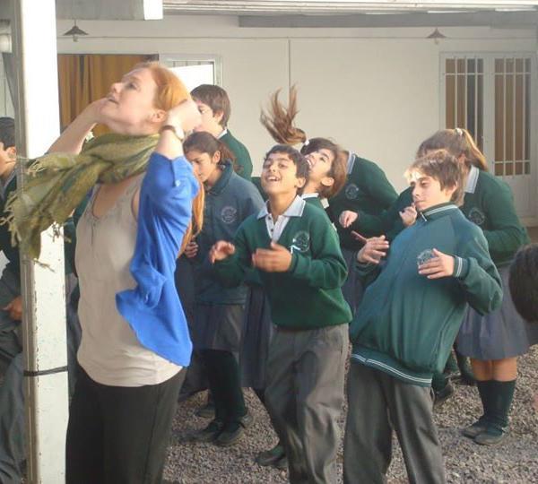 """""""Teaching in Jovita, Cordoba"""""""