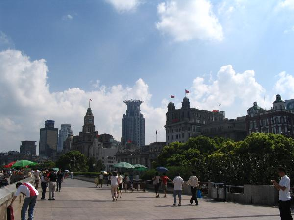 The Bund Study Abroad in Shanghai China with CEA Study Abroad