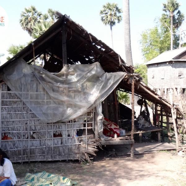 Cambodian Village Home