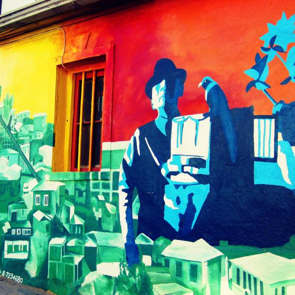 Street Art in Chile - Intern in Chile - Adelante Abroad