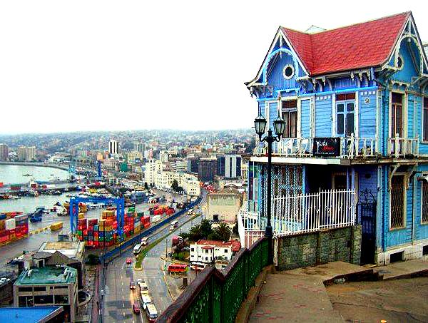 Port View of Valparaiso - Intern in Chile - Adelante Abroad