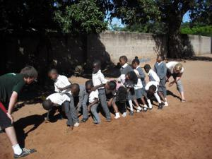 Coach Sports to Underprivileged Children in Zambia | travellersworldwide.com