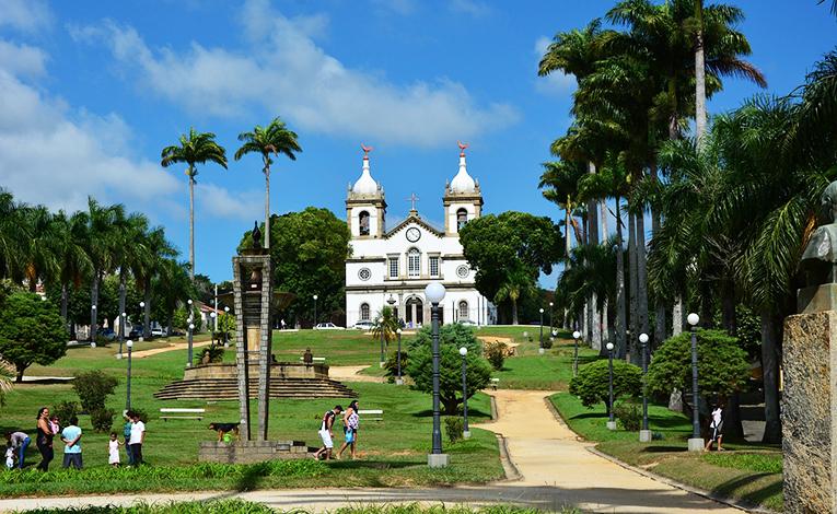 Church in Rio De Janeiro, Brazil