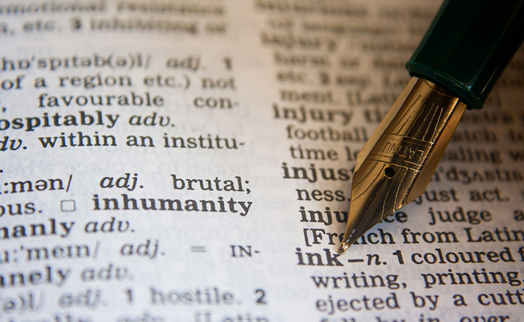 Find specific words in a dictionary