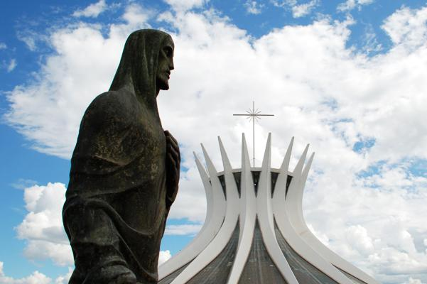 The Cathedral of Brasilia.