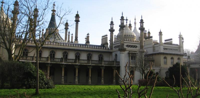 The Royal Pavilion.