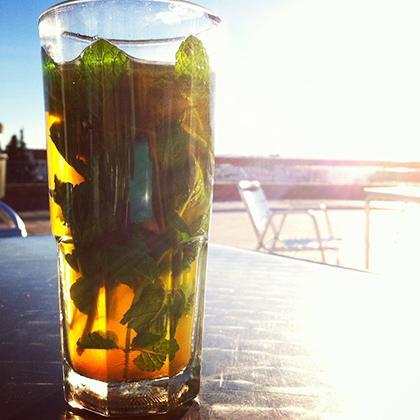 Mint Tea in Marrakech