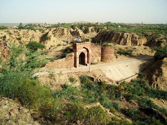 Gateway of Shergarh Fort