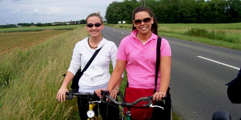 A ride in the country with a friend.
