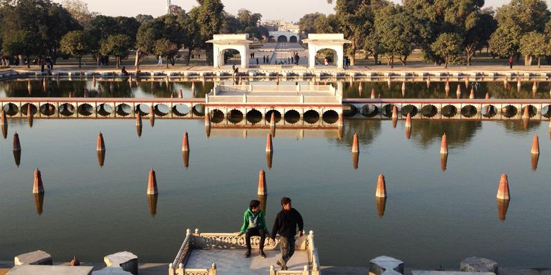 One of Pakistans lovely sites Shalimar Gardens, Lahore