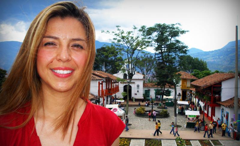 Pueblito Paisa near Medellín, Colombia