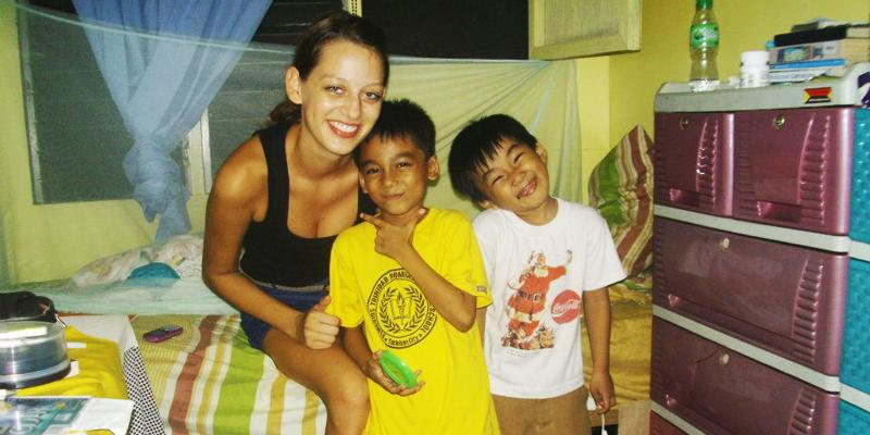 Spending time with New Little Host Brothers in the Philippines.