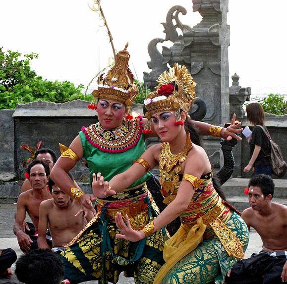 Legong Dancers, Bali