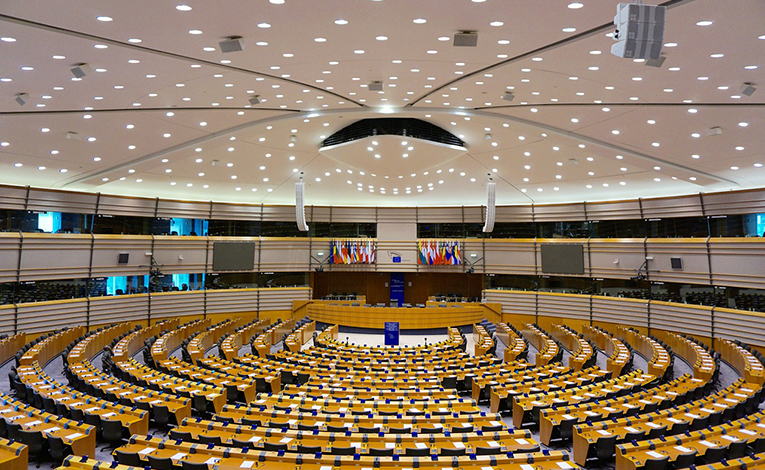 EU commission in Brussels
