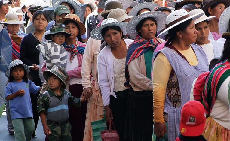 Natives of Bolivia
