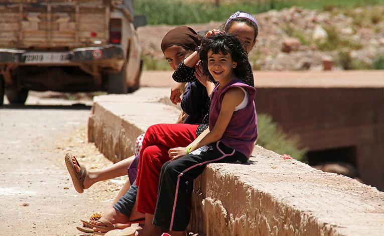 Family in Morocco
