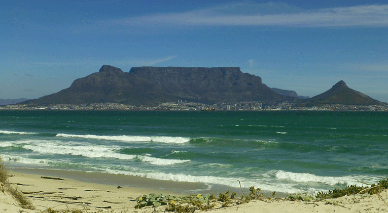 The Table Mountain, South Africa