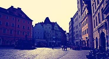 Teach in Germany and explore the cobblestone streets of Frankfurt