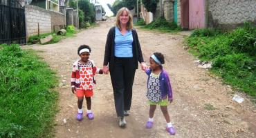 Taking A Walk With The Girls: volunteering in Ethiopia