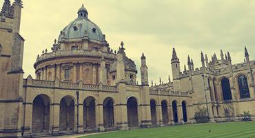 Historic building in Oxford, England