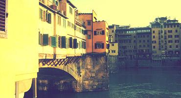 Arno River and Ponte Vecchio, Florence