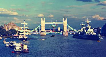 London Tower Bridge.