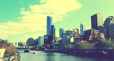 Melbourne skyscraper.