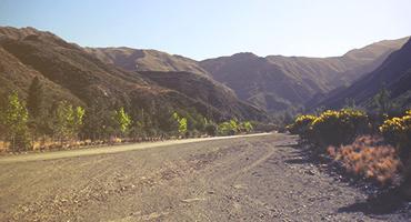 Road in Mendoza, Argentina