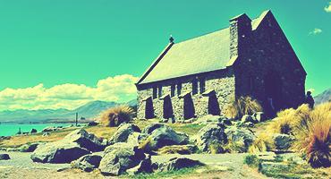 Shepherd's temple, New Zealand
