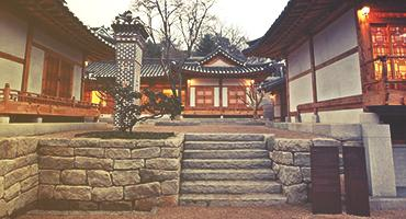 Temple in Seoul, South Korea