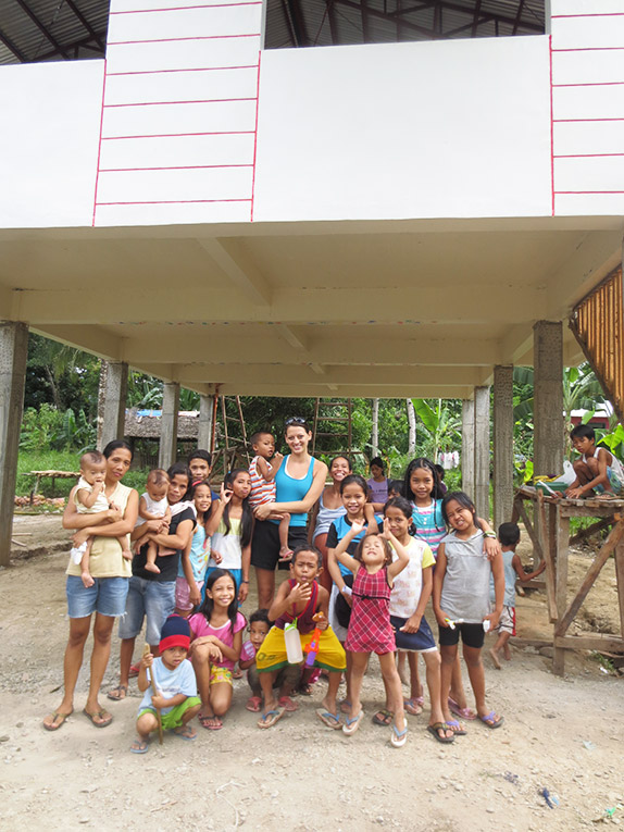 Volunteer for the Visayans Cangumbang Community Center in the Philippines